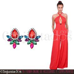 Pendientes Nadine multicolor ★ 12'95 € en https://www.conjuntados.com/es/pendientes/pendientes-nadine-multicolor.html ★ #novedades #pendientes #earrings #conjuntados #conjuntada #joyitas #lowcost #jewelry #bisutería #bijoux #accesorios #complementos #moda #eventos #bodas #invitadaperfecta #perfectguest #party #fashion #fashionadicct #picoftheday #outfit #estilo #style #GustosParaTodas #ParaTodosLosGustos