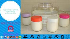 #Tutorial - Yogurt di capra Homemade (con la yogurtiera) - ad alta diger...