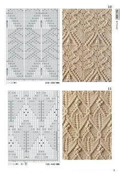 260 Knitting Pattern Book by Hitomi Shida 2016 — Yandex. Knitting Paterns, Cable Knitting, Knitting Charts, Knitting Designs, Knitting Needles, Free Knitting, Knitting Projects, Lace Patterns, Stitch Patterns