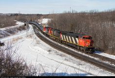 RailPictures.Net Photo: CN 5556 Canadian National Railway EMD SD60F at Hamilton, Ontario, Canada by Nick Fiedtkou