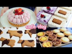 [ENG] 👩🍳열심히 디저트 만들어 봤어요🐄 |Baking Vlog / Dessert Cafe Vlog| 내복곰 - YouTube Cow Cookies, Gingerbread Cookies, Cooking, Desserts, Kitchenaid, Recipes, Food, Youtube, Sweets