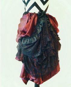 Bustle skirt Back