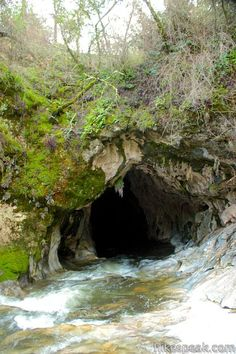 Upper Natural Bridge Trail: description, photos, GPS map, and directions to a scenic tunnel on Coyote Creek in Calaveras County that you can swim through Used Camping Gear, Camping World Rv Sales, Camping In Texas, Camping Near Me, Camping Guide, Camping Store, Zion Illinois, Tuolumne County, Yosemite Camping