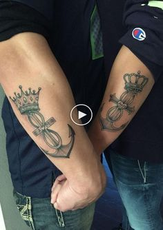 40 Best King Queen Tattoos for Couples in Love – Couple Tattoos King Queen Tattoo, King Tattoos, Couple Tattoos Love, Tattoos For Guys, Spouse Tattoos, Partner Tattoos, King Of Hearts Tattoo, Queen Tattoo Designs, Small Crown Tattoo