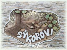 Výsledek obrázku pro keramické vizitky na dveře