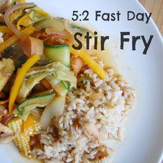 5:2 Fast Day Stir Fry