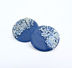 Moon night earrings