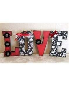 Scrapbooking love letters