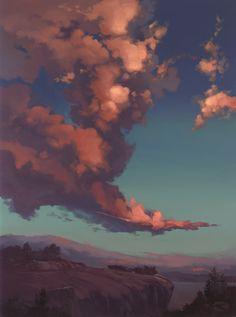 windswept clouds by David-McCamant.deviantart.com on @DeviantArt