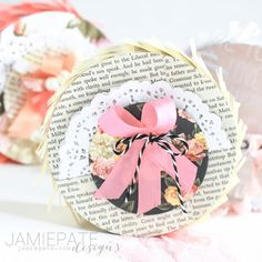 mini pinata ~ we r memory keepers Mini Pinatas, We R Memory Keepers, Diy Party, Valentines Day, The Creator, Paper Crafts, Parties, Place Card Holders, Craft Ideas
