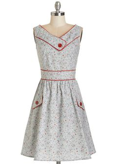 Places to Go, People to See Dress in Floral. This morning, youre up and at em in this floral dress, ready to take on a busy day in adorable style! #greyNaN