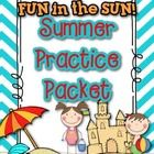 You can send this home with your students to review over the summer as they prepare for 1st grade! It contains a reading, writing, ,or math activit...