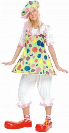 Un classique pour Carnaval, avec ce déguisement clown rigolo pour femme. Un classique qui fera rire les enfants à coup sûr !