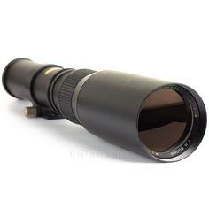 Paragon 500mm F8 Telephoto Lens M42 Pentax Screw Fit DSLR Adaptable EOS MFT