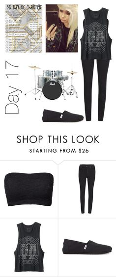 """""""Oc challenge- Breah Martin"""" by xxghostlygracexx ❤ liked on Polyvore featuring Cheap Monday and TOMS"""