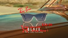 Light up any room // The brand new Blaze Wayfarer can't help but make an impression Ray Ban, 21 Day Fix, Baby Food Recipes, Bookshelf Headboard, Cauliflowers, Abs, Boards, Clace, Hairstyles