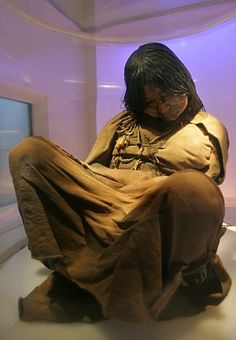 15 year old girl from the Incan Empire who has been frozen for 500 years. (She was a sacrifice)  This lead to the discovery that the Incan fattened their children before killing them. Months or even years before the sacrifice pilgrimage these children were given diets which were those of the elite, consisting of maize and animal proteins.