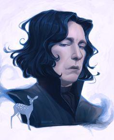 Severus Snape by Mioree