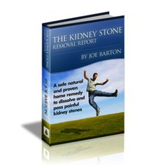 The Kidney Stone Removal Report was created by Joe Barton, is an esteemed and well-known health researcher. He claims the eBook to be a proven cure method that allows the kidney stones to dissolve before being discharged. Please continue to read this post if you are interested in know more about the report. Page: http://e-prohomehealthcare.com/kidneystoneremovalreport