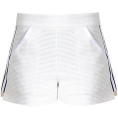 Blair High Waisted Shorts ($250) ❤ liked on Polyvore featuring shorts, high-rise shorts, preppy shorts, high rise shorts, highwaist shorts and high-waisted shorts