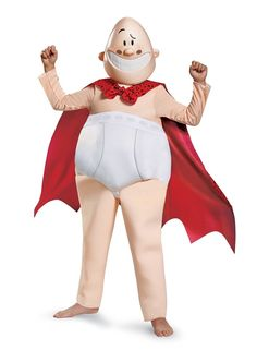 f0af6ccf1af5 Your child will have fun dressing up as Captain Underpants in this deluxe  costume.