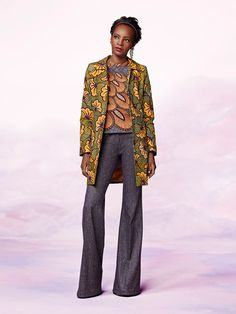 Fitted Coat | Vlisco Bloom Collection 2014