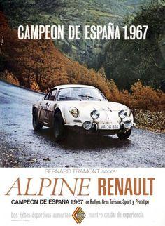 Saga Alpine Renault