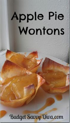 Apple Pie Wontons Re