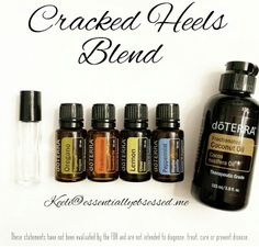 Cracked heals essential oil blend