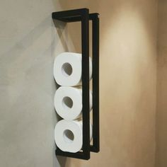 Handdoekenrek zwart - industrieel en handgemaakt - TLF interieurs ✅ Industrial Toilets, Nautical Bathrooms, Bathroom Toilets, Towel Rail, Creative Decor, Beautiful Bathrooms, Toilet Paper, Home Remodeling, Bathroom Ideas