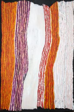 Ray Ken - Tali - Sand dune - 152 x 101,5 cm-478-17 http://www.aboriginalsignature.com/art-aborigene-tjala/ray-ken-tali-sand-dune-152-x-1015-cm-478-17