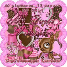 Daphs Scrappin Kreations: My Sweet Valentine