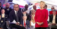 Matt Lauer is facing major backlash following his moderation of Hillary Clinton…