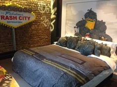 """See 42 photos and 1 tip from 196 visitors to The Exhibitionist Hotel. """"If you love artsy decoration in a fancy environment then this is for you. Greater London, Four Square, Comforters, Artsy, Fancy, Pure Products, Blanket, Bed, Furniture"""