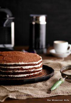 Tirimisu Layer Cake
