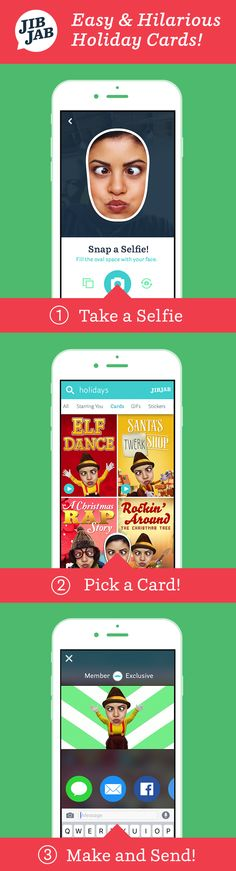 Christmas is almost here!  Cast your friends & family in our hilarious Holiday eCards.  Send your cards the fun, fast and easy way -- with JibJab!