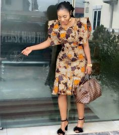 Different Ankara fashion styles, look gorgeous - Reny styles Short African Dresses, Ankara Short Gown Styles, Latest African Fashion Dresses, African Print Dresses, African Print Fashion, Africa Fashion, Ankara Fashion, Short Gowns, Long Dresses