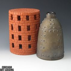 Ceramic artworks by Louis Pierozzi available at Chicago Art Leasing: www.chicagoartleasing.com