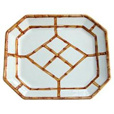 Cute bamboo tray!  http://www.wellappointedhouse.com/Products/147499-brown-octagonal-bamboo-platter.aspx