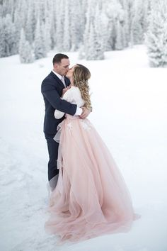 Pretty In: 17 of the best pink wedding dresses – Gold Wedding Gowns Rose Gold Wedding Dress, Pink Wedding Dresses, Blush Pink Weddings, Wedding Dress Trends, Blush Wedding Gowns, Unique Colored Wedding Dresses, Blue Weddings, Spring Weddings, Lace Wedding