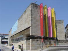 Centro Galego de Arte Contemporaneo, Álvaro Siza, Santiago de Compostela.
