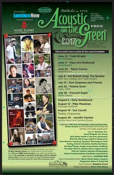 Acoustic on the Green Loudoun County, Music Radio, Acoustic, Concert, Green, Concerts