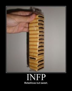 INFP we do not like to be bossed about but do not want to make a scene either; just quietly do our own thing.