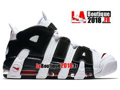 huge selection of 6c353 78436 Chaussures Nike Air More Uptempo Baskets Homme Noir Blanc 414962-105