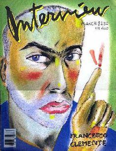 Interview Covers - Francesco Clemente