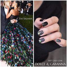 Dolce & Gabanna Inspired Nail Art