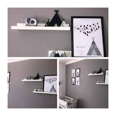 Just been sent these photos by a customer showing my wooden teepees in situ what a lovely nursery @michellenorman1405 #monochrome #monochromenursery #teepee #wigwam #modernnursery #customerphoto