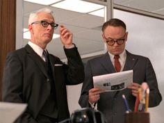 mylusciouslife - Roger Sterling glasses - Man Men style glasses