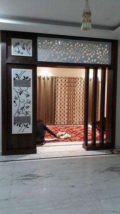 Living Room Partition Design, Living Room Tv Unit Designs, Room Partition Designs, Ceiling Design Living Room, Room Door Design, Home Room Design, Glass Partition, Entrance Design, Fence Design