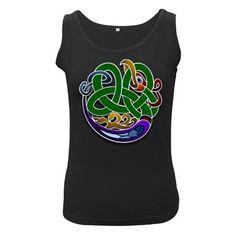 Celtic+Ornament+Women's+Black+Tank+Top